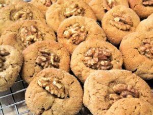 receta de galletas de avena y nueces