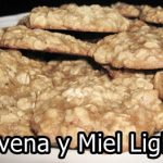 Galletas de avena y miel light