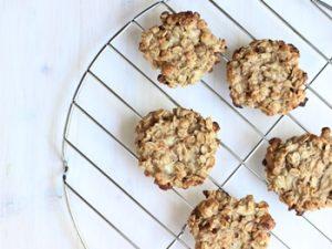 receta de galletas de avena light bajas en calorías