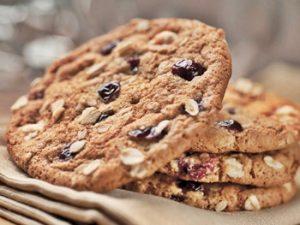 recetea de galletas de avena y pasas