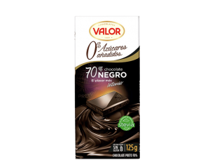 chocolate sin azucar valor